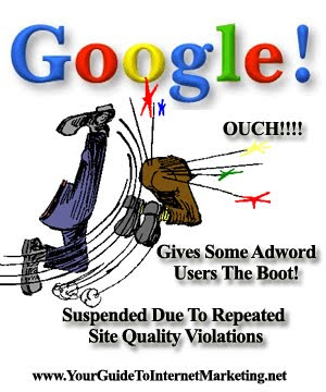 Google Adwords Sends Strong Message To Adword Advertisers with Warning Message or Suspension Email Notice!
