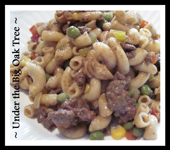 Hamburger macaroni recipes