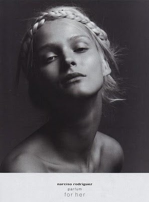 narciso rodriguez for her ad