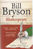 Bill Bryson - Shakespeare cover