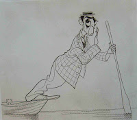 Buster Keaton by Al Hirschfeld