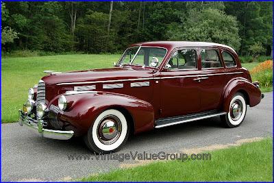 Amerian Cars 1940 Cadillac Lasalle Movie Star Car