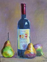"""A French Wine with Pears"""