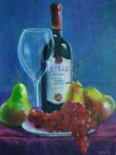 """A Spanish Wine with Fruit II"", A Virgilla Art Original"