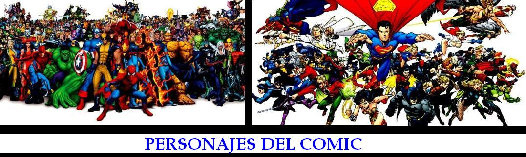 PERSONAJES DEL COMIC
