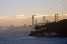 Bay Bridge Looking Toward San Francisco