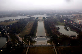 Lincoln Memorial from the top of the Washington Monument