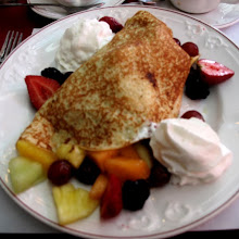 Breakfast: Fresh Fruit Crepes