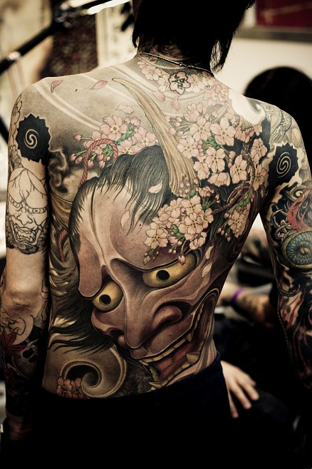 Tattoos in Japanese