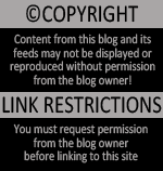 Please request permission before posting any content from this blog.