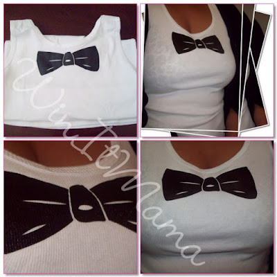 WinItMama WINS Bow Tie Tuxedo T-Shirts Online Review