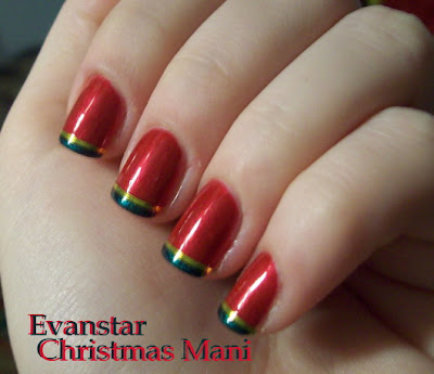 Each Christmas I try to come up with new ideas for my manicure. This