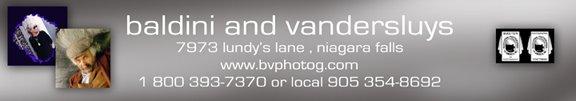 BALDINI & VANDERSLUYS Niagara Falls Master Photographer