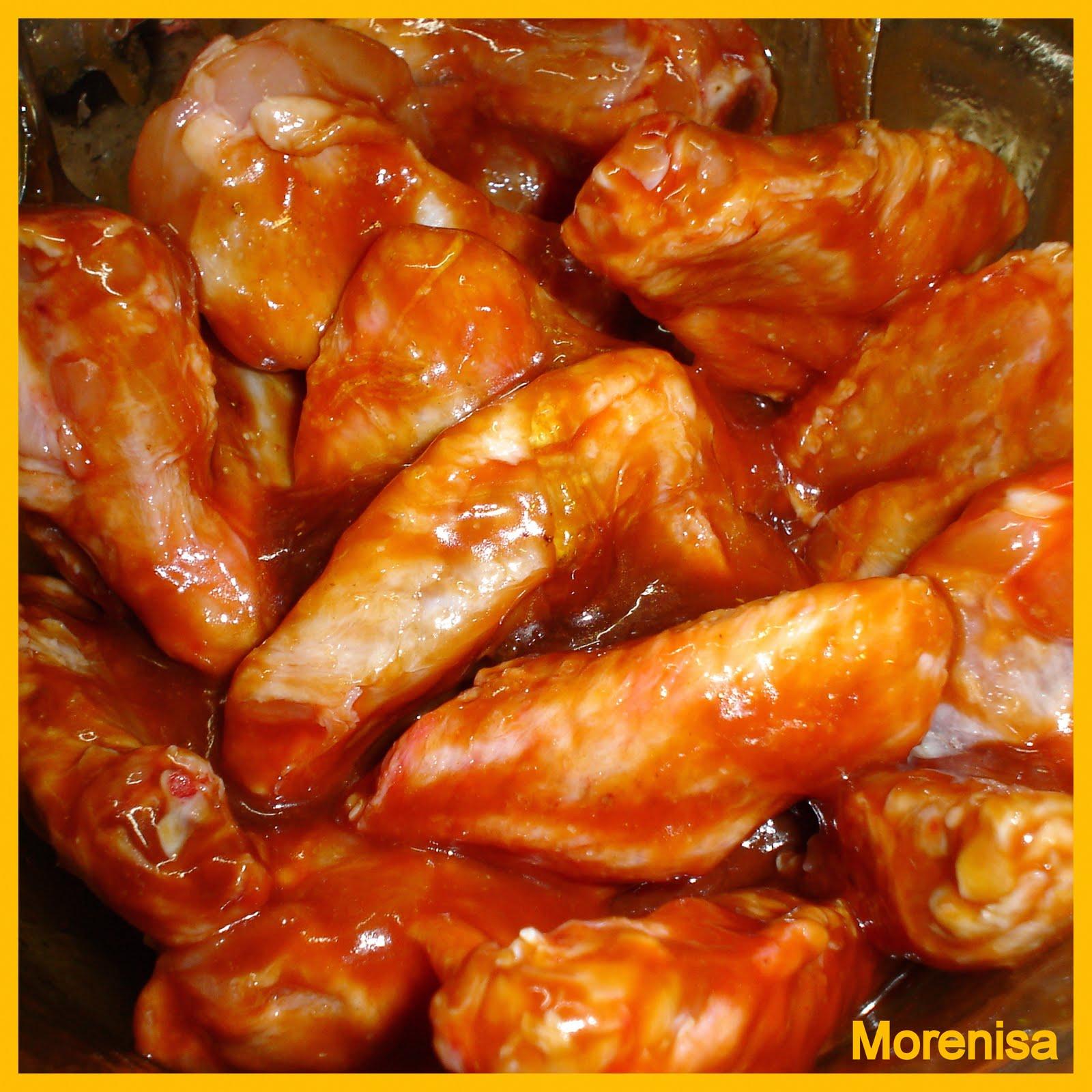 La cocina de morenisa alitas de pollo con tomate a la oriental - Adobo de alitas de pollo ...