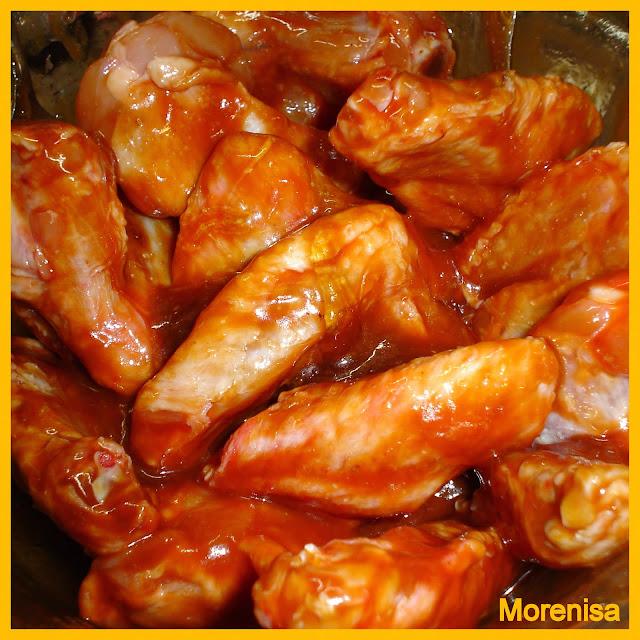 Como hacer adobo para alitas de pollo receto - Adobo de alitas de pollo ...