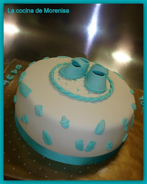 La cocina de morenisa tarta bautizo de jos mar a - La cocina de maria jose ...