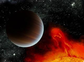 Ilustración del exoplaneta BD+20 1790 b, catalogado como'Júpiter caliente'