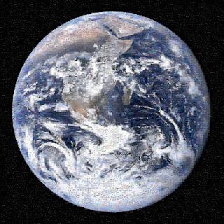 La Tierra observada desde el Apollo 17