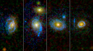 Los anillos ultravioletas observados por GALEX y Hubble