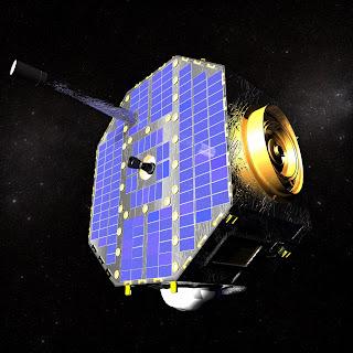 Impresión artística del satélite IBEX