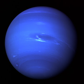 Fotografía de Neptuno obtenida por Voyager 2
