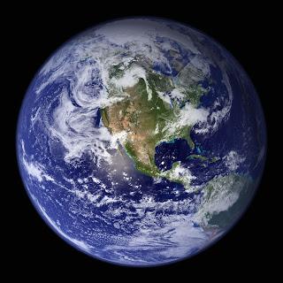 Fotografía de la Tierra obtenida desde el espacio