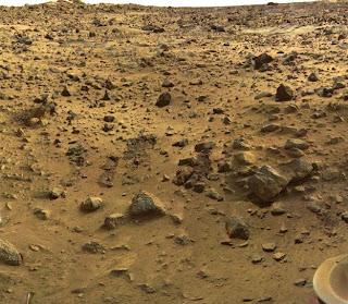 Fotografía de la superficie marcianda tomada por Viking