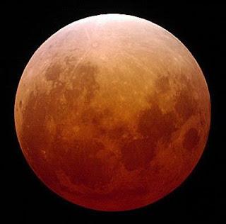 Fotografía del eclipse lunar de noviembre de 2003