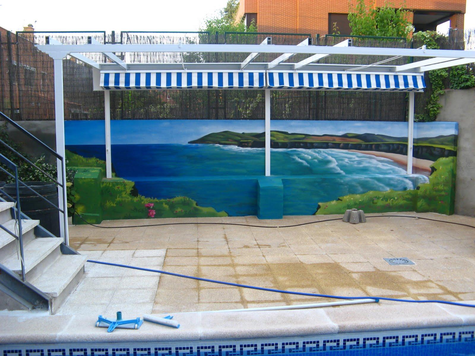 m lay murales interiores exteriores infantiles
