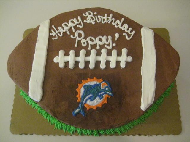 Babycakes Custom Cakes Miami Dolphins Cake