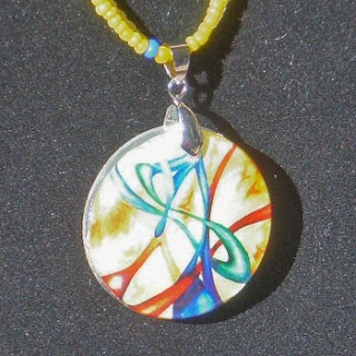 Original drawing pendant by AprilQuast