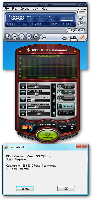 DFX Audio Enhancer 9.107 Full + 35 Skin + Key.