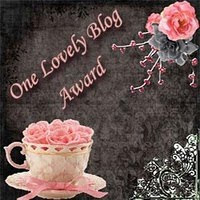 Lovely Blog Award From Scare Sarah
