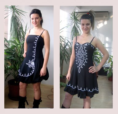 İşlemeli Elbiseler