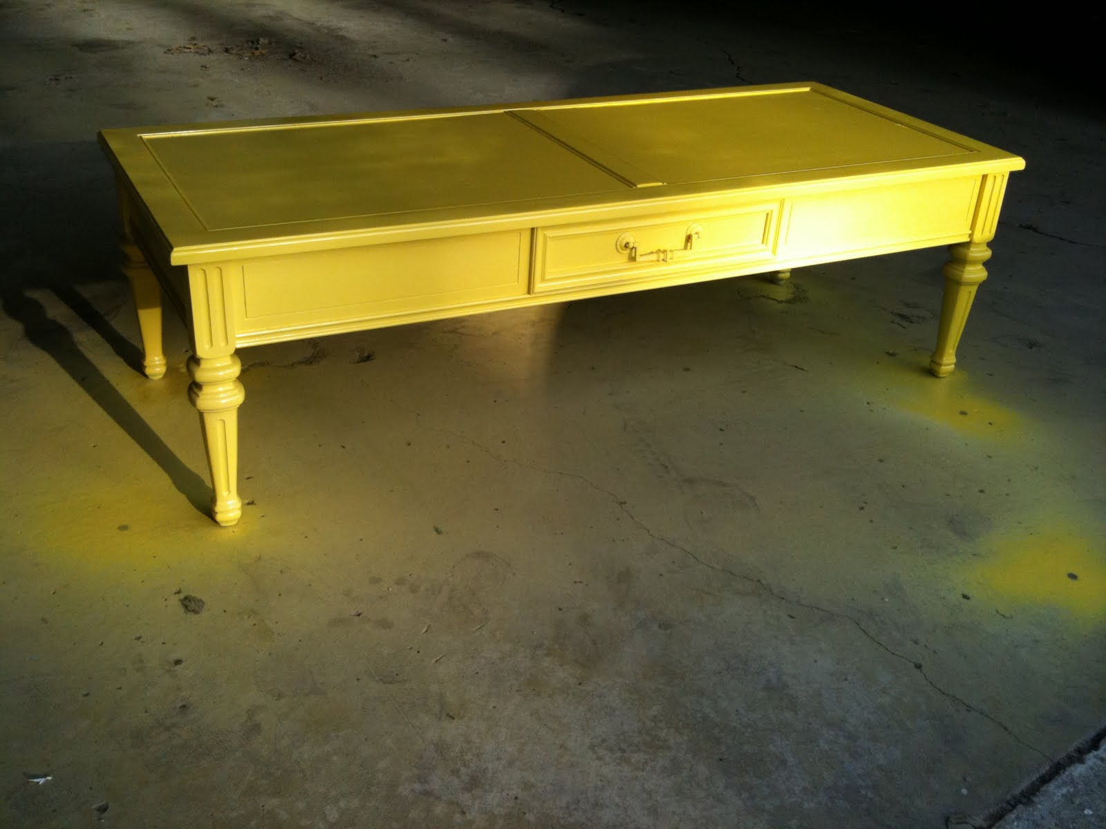 michelle rollins inspiration diy coffee table
