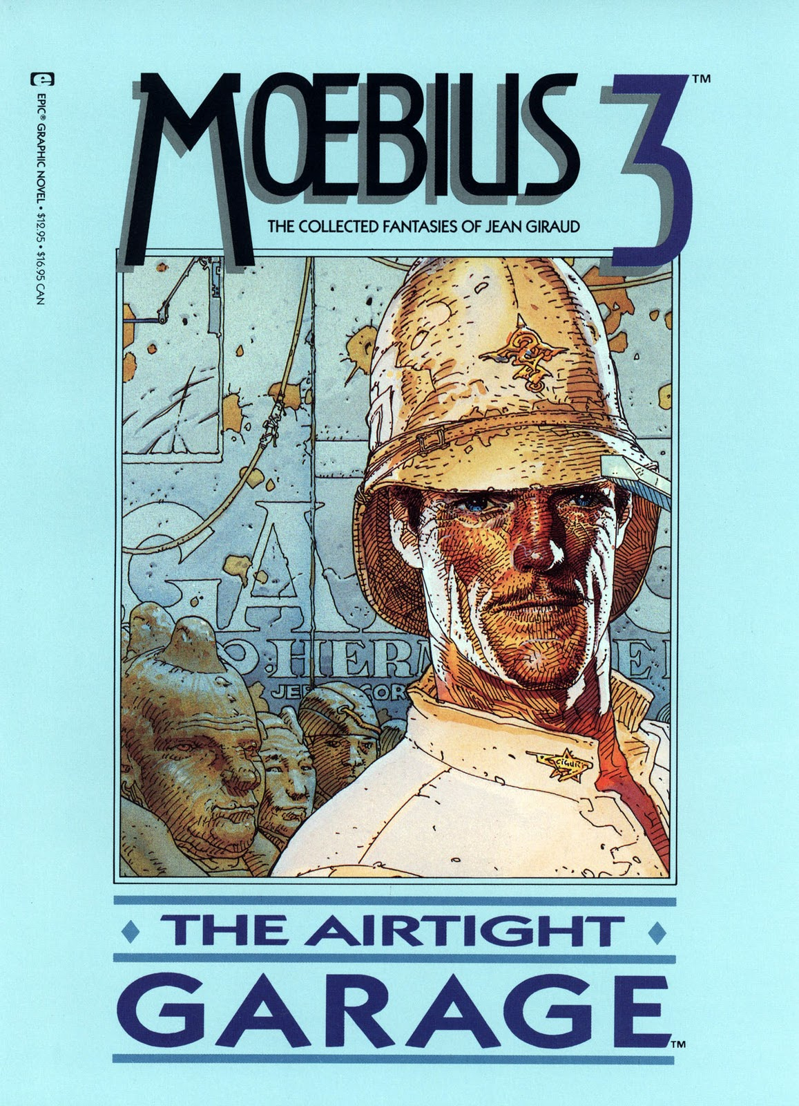 The Marvel Comics Of The 1980s 1987 Moebius The