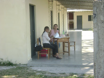 La profe Nancy y yo
