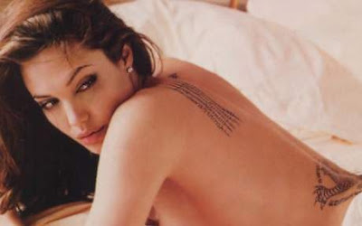 Angelina Jolie Tattoo - Celebrity Tattoo