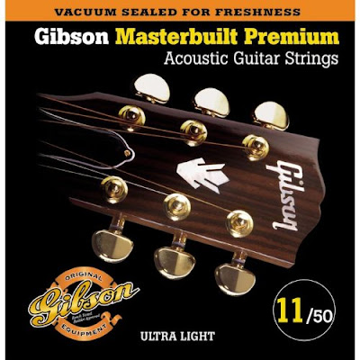 Gibson SAG-MB11 Masterbuilt Premium Phosphor Bronze Acoustic Guitar Strings.