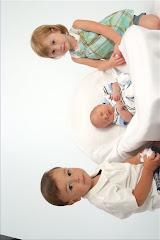 Miles, Cora, and Wyatt