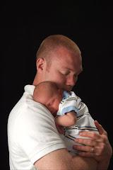 Daddy loving his new boy!