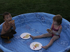 Supper in the pool anyone? Good thing the water was gone!