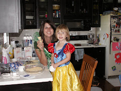Cora and Aunty A making Cheese Cake!