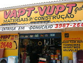 VAPT - VUPT - MATERIAIS PARA  CONSTRUÇÃO