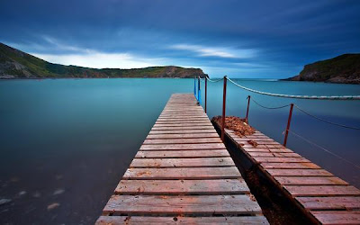 hd scenery jetty wallpaper