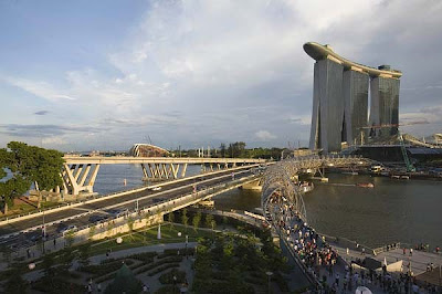 Singapore Marina Bay Sands casino