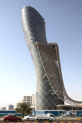 Capital Gate - World's Furthest Leaning Tower