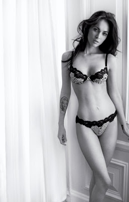 Megan Fox Emporio Armani undies