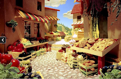 Market Scene - Foodscapes