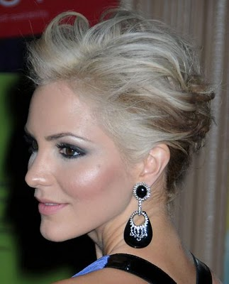 As a fix finish the new short hairstyle 2011 for women with some hair spray.